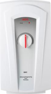 Водонагреватель проточный электрический напорный AEG RMC 55