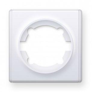 Рамка одинарная, цвет белый